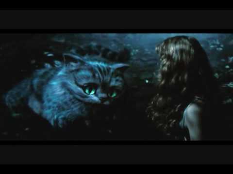 Alice In Wonderland - Various Cheshire Cat Scenes (Added Scene)