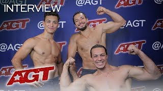 Interview: Messoudi Brothers Talk About Performing With Terry Crews! - America's Got Talent 2019