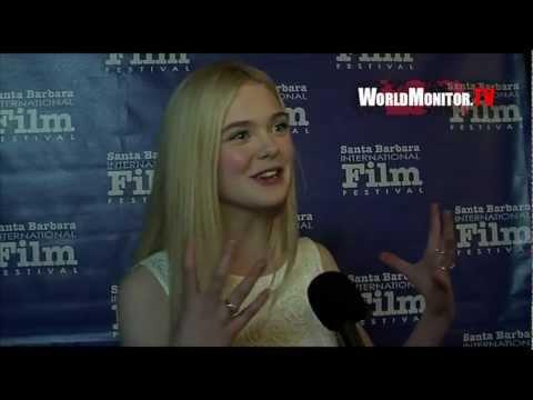 Elle Fanning 28th Santa Barbara International Film Festival - Virtuoso Award Ceremony