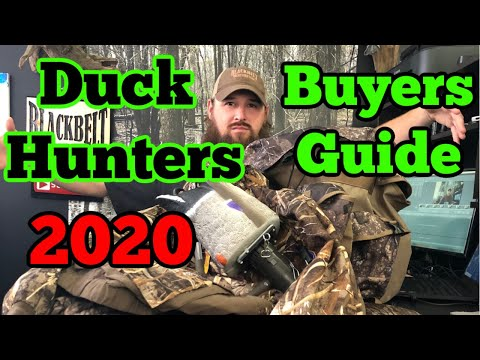 Duck Hunting- Duck Hunters 2020 Buyers Guide
