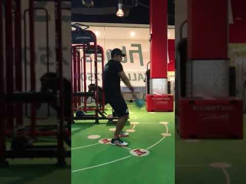 Abhinav Malhotra - Kettlebell Snatch practice 16kg - 128 reps