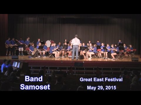 Leominster Samoset Band ...at Great East Festival 2015