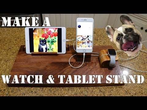 how-to-make-an-smart-watch,-tablet,-&-phone-charging-station