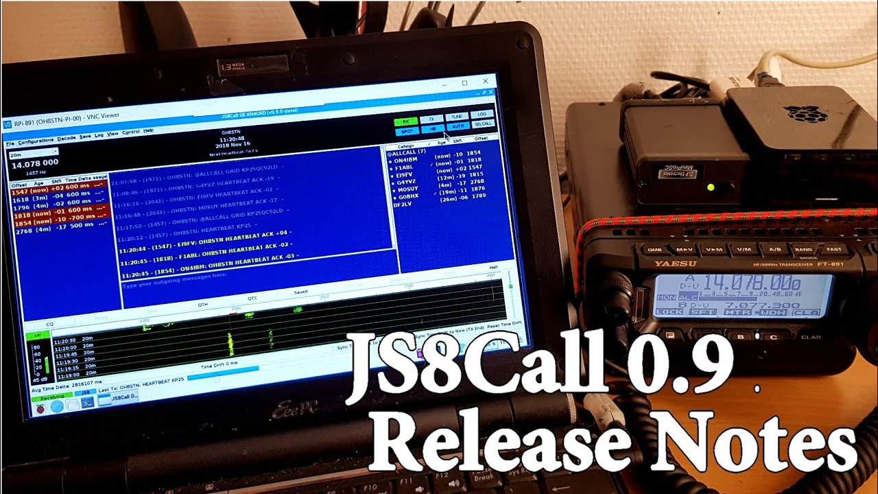JS8Call 0 9 Release Overview