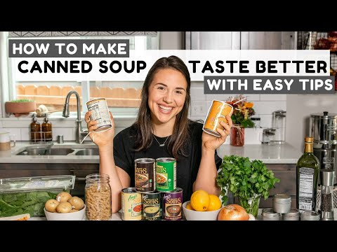 5 Ways to Make Canned Soup Suck Less