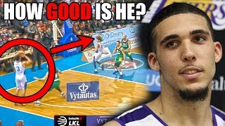 How GOOD Is LiAngelo Ball Actually? (Ft. NBA Potential, Shots, LaMelo Ball, & Some Stealing)