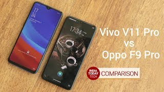 Vivo V11 Pro vs Oppo F9 Pro - Camera, display, fast charging and performance