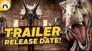 Jurassic World: Fallen Kingdom TRAILER Release Date Confirmed