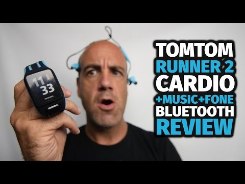 TOMTOM RUNNER 2 CARDIO + MUSIC + FONE BLUETOOTH - REVIEW [pt-br]