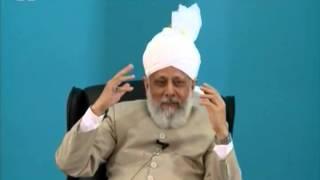 Gulshan-e-Waqfe Nau Nasirat Canada July 2012, Educational class with Hadhrat Mirza Masroor Ahmad