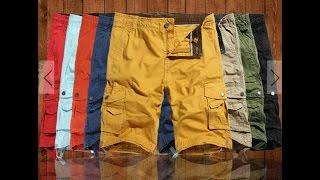 Шорты из Китая - а стоит ли? Mens Casual Cargo Shorts