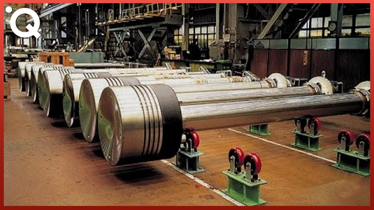(ВИДЕО) - Производствен процес на най-големия двигател и други производствени процеси в света!