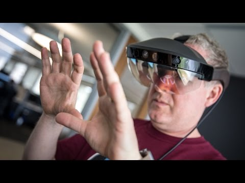 Hands-On with Meta 2 Augmented Reality Glasses!