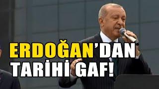 "ERDOĞAN'DAN TARİHİ GAF: ""CUMHUR İTTİFAKI..."""