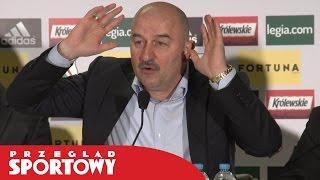 Czerczesow trenerem Legii / Станислав Черчесов стал главным тренером команды Легия Варшава