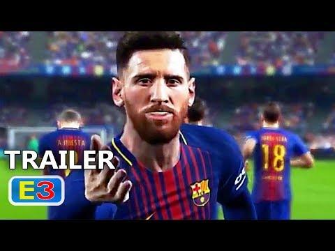 PS4 - PES 2018 Trailer (E3 2017)