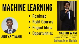 Machine Learning in 2020| For Beginners| Roadmap| Project Ideas | Discussion with- Aditya & Sach
