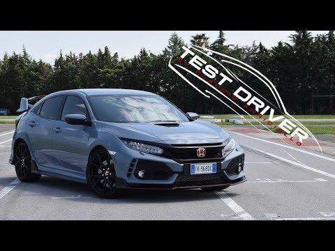 Prova Honda Civic Type R 2018 con VTEC turbo!