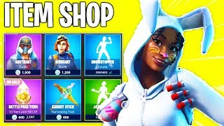 New Fortnite Item Shop! BUNNY SKINS BACK & NEW EMOTE! Daily & Featured Items