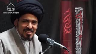 السيد منير الخباز - حساب إحتمالات صدق دعوة النبي ص, نقاء سيرته وخلقه يشهد بصدقه