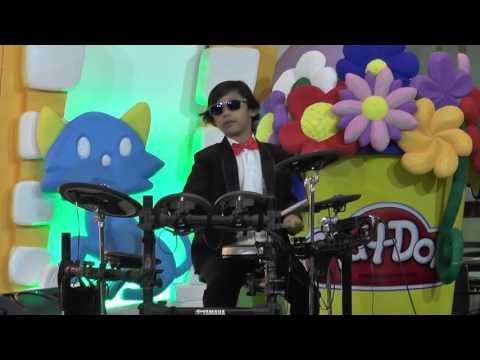 "Rhythm Star Music School Jogja "" Jika Kau Percaya - Ahmad Bersaudara Cover By : Kenang"