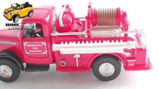 Emergency Fire Service Car Old Style | Loading review