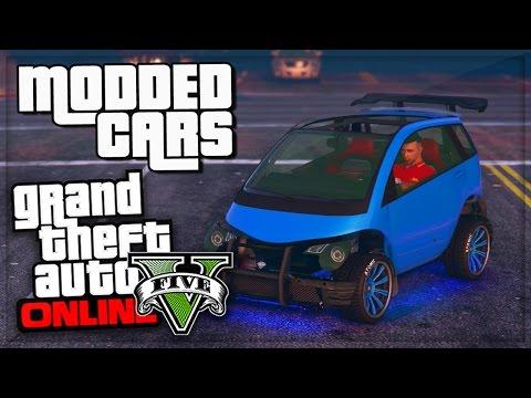 GTA 5 Online GET R Modded Cars Online! GTA V GLITCH Secret ...