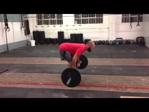 Paradiso CrossFit - Pendlay Row Demo