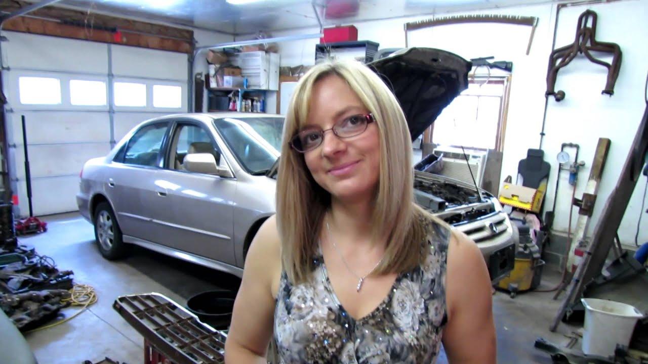 55 Chevy truck- door repair part 3 - YouTube