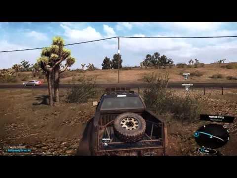 The Crew Beta (CBT 2) - Travel in the desert on Ford Raptor
