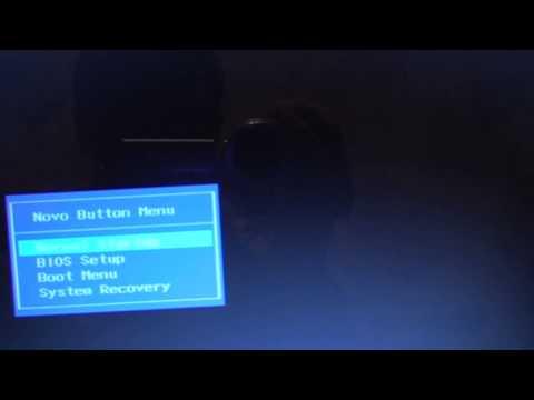 Как войти в БИОС. Запуск с диска  и установка Windows на ноутбуке LENOVO G50-70