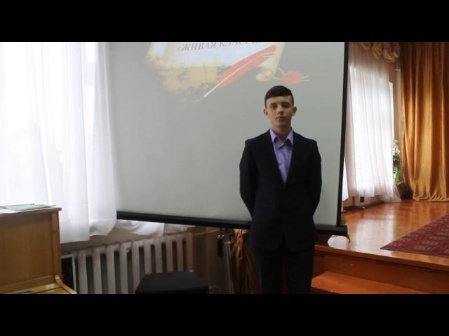 Изображение предпросмотра прочтения – ВладимирКомратов читает произведение «Неохотно инесмело…» Ф.И.Тютчева
