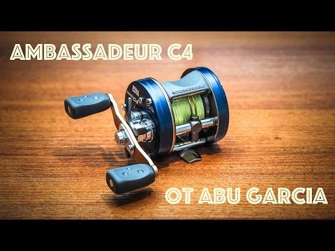 Обзор мультипликаторной катушки для ловли на джеркбейты - Abu Garcia Ambassadeur C4.