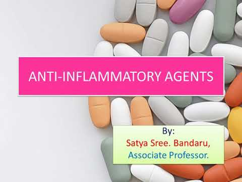 Anti-inflammatory Agents-NSAIDs (Medicinal Chemistry-1)