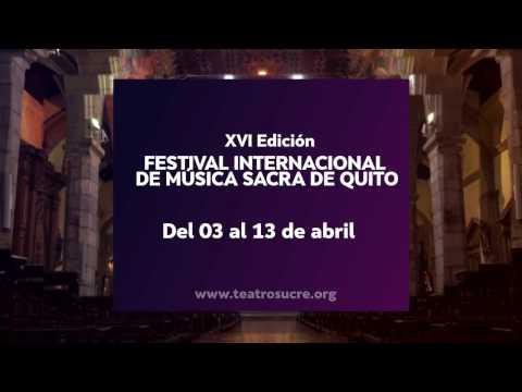 Festival Internacional de Música Sacra 2017