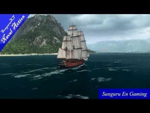 Naval Action] Britain vs Pirates front Kingston Port Royal  | Jun 16, 2016