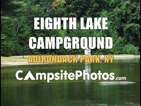 Eighth Lake Campground, Adirondack Park, New York