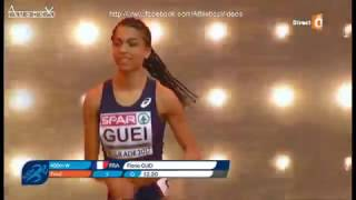 Floria Guei 2017 indoor european champion Belgrade