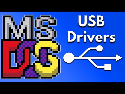 What Are MS DOS USB Drivers And How Does It Work?