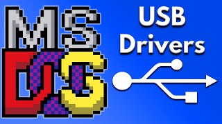 What are MS DOS USB Drivers and How Does It Work? Video