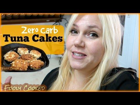 Zero Carb Tuna Patties Tuna Cake Recipe Low Carb