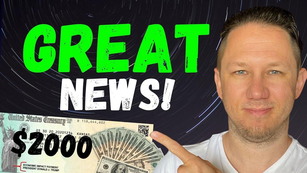 Download WOW!! $2000 FOURTH Stimulus Check Update & Third Stimulus Check Update