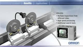 Desarrollos digitales Omron ZFX vision sensor