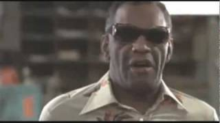 Ray Charles cameo in the 1980 Blues Brothers movie