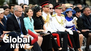Prince Harry, Meghan Markle attend opening of ANZAC Memorial in Australia
