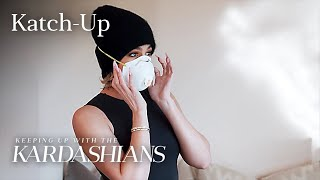 "Khloé Kardashian Masks Up After Feeling Ill: ""KUWTK"" Katch-Up (S19, Ep5) 