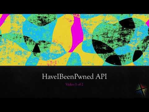 HaveIBeenPwned API part 1