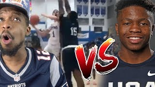LAMELO vs #1 RANKED IN STATE ZION HARMON! CATCHES BODY & DROPS 36 POINTS