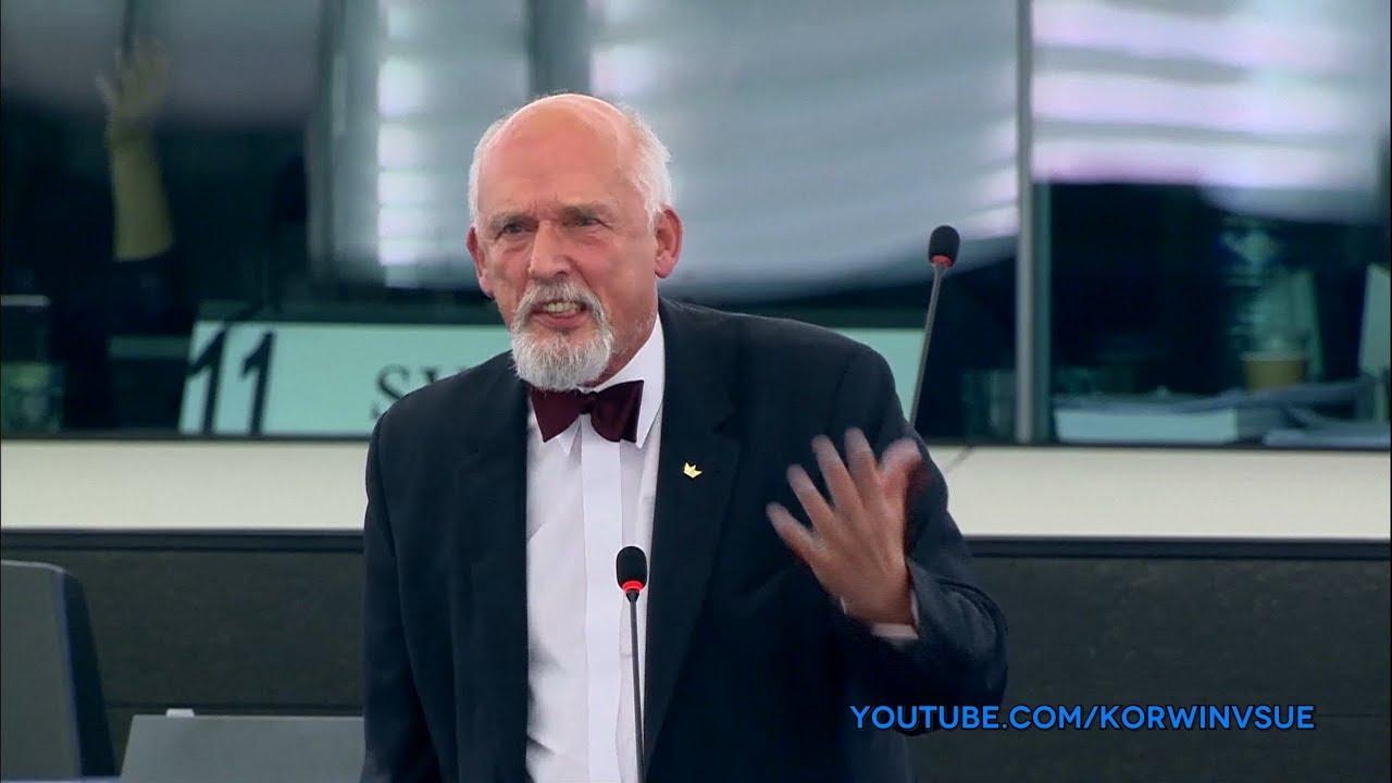 Janusz Korwin-Mikke konkretnie masakruje socjalistów w Parlamencie Europejskim!