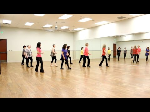 Touch of Mexico - Line Dance (Dance & Teach in English & 中文)